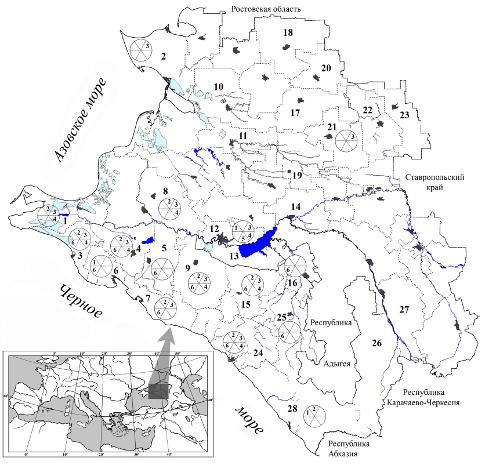 районов Краснодарского